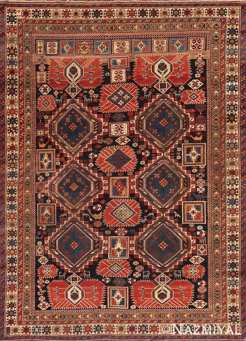 Caucasian Shirvan Rug 70076 Nazmiyal