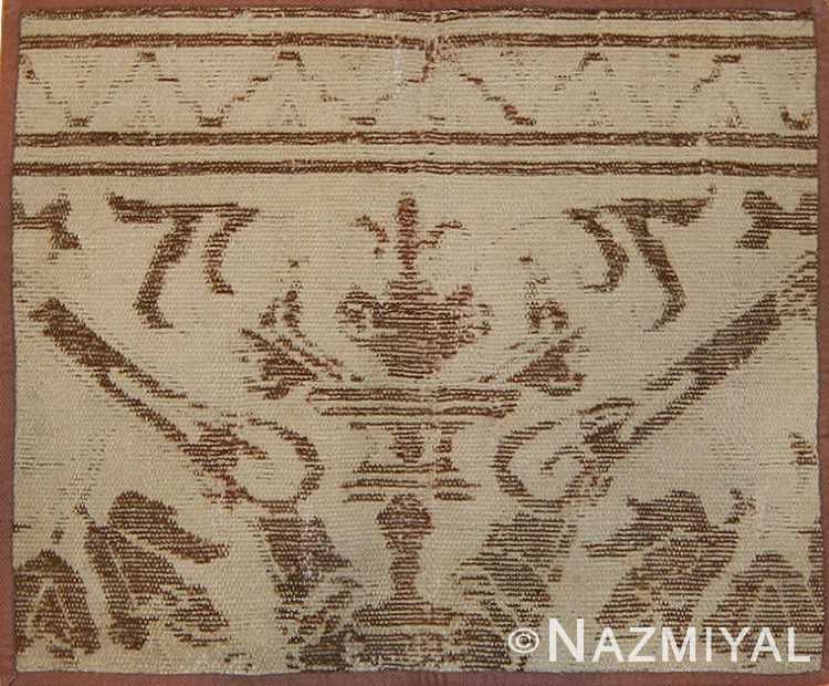 Full view 16th Century Antique Spanish Alcaraz Carpet Fragment 3430 by Nazmiyal