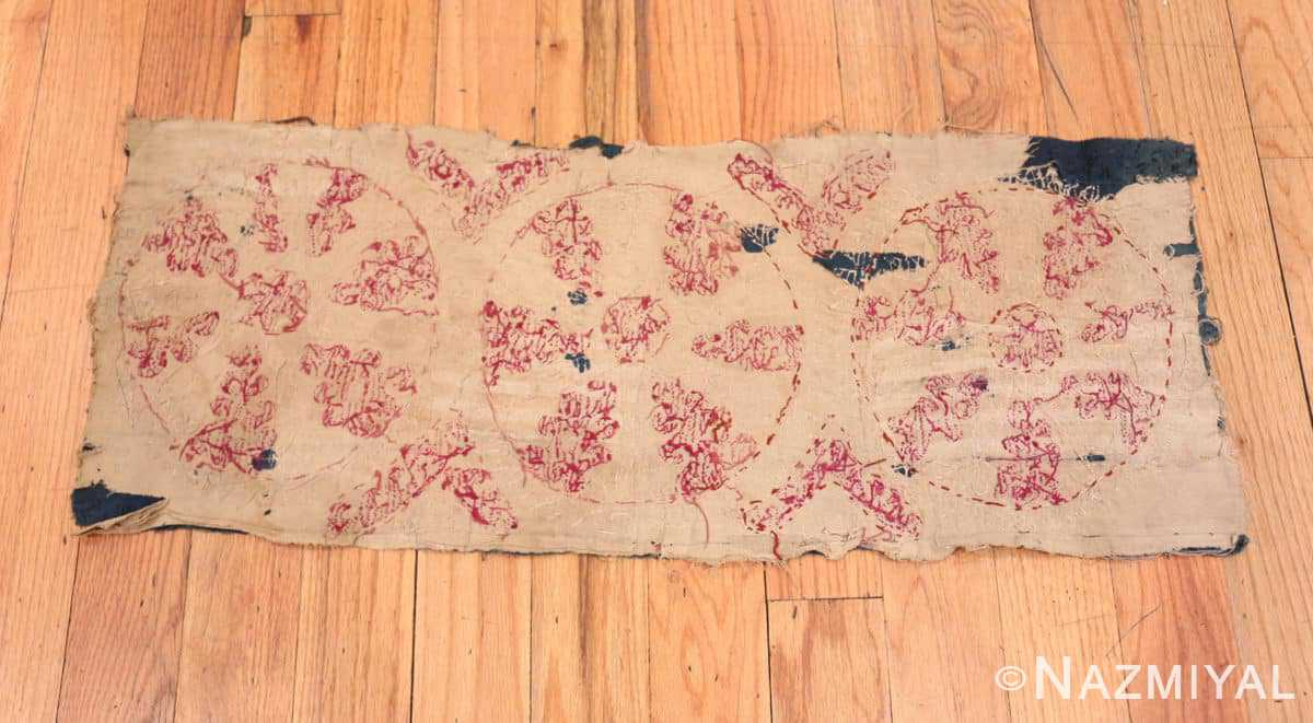 Back Antique Kaitag Dagestan embroidery 70086 by Nazmiyal