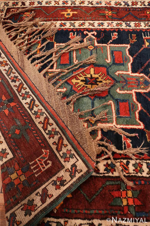 Back detail Northwest Persian runner rug 70040 by Nazmiyal