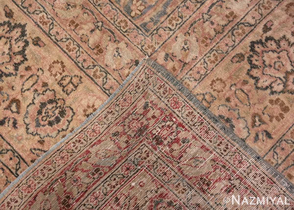 Back Light Blue Antique Persian Khorassan rug 70001 by Nazmiyal
