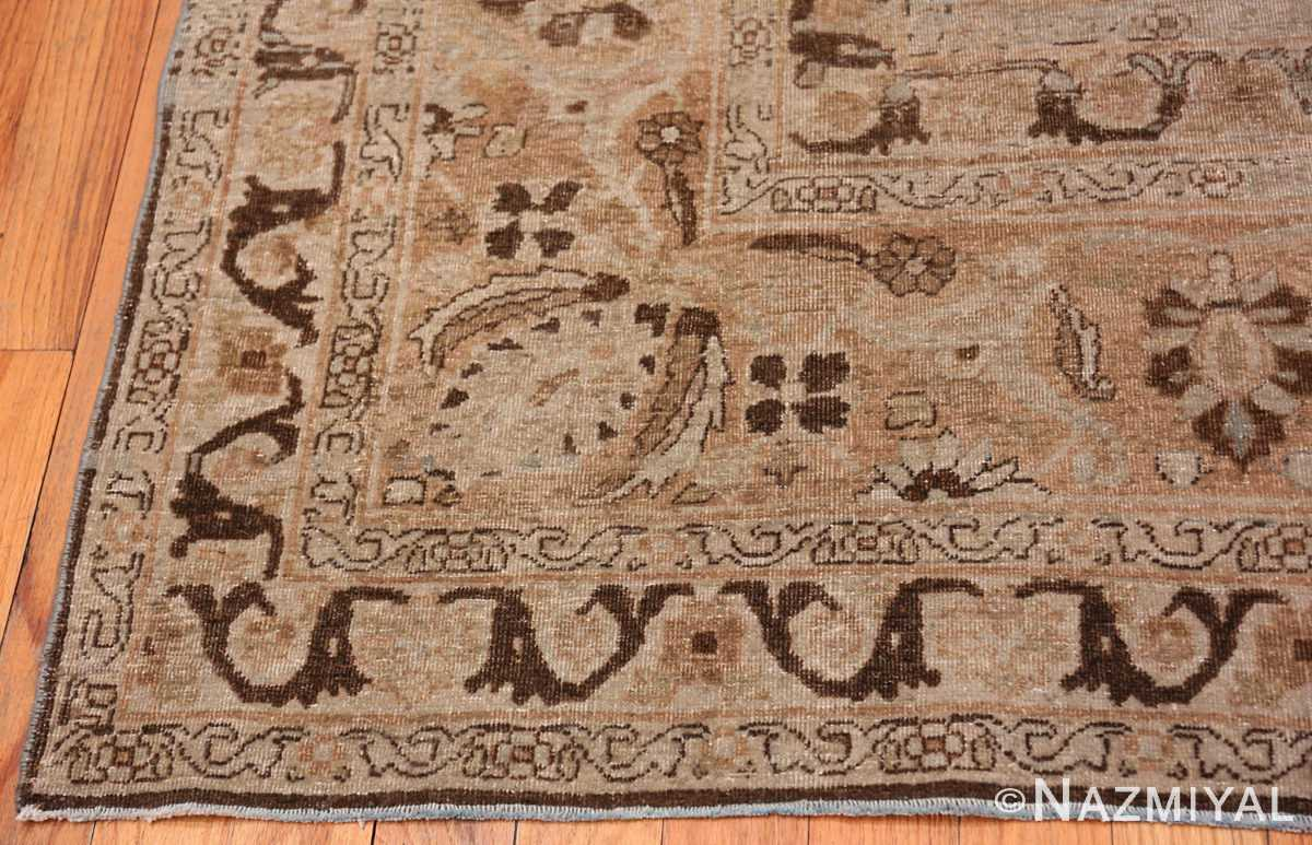 A border picture of the antique persian khorassan rug #49843 from Nazmiyal Antique Rugs NYC