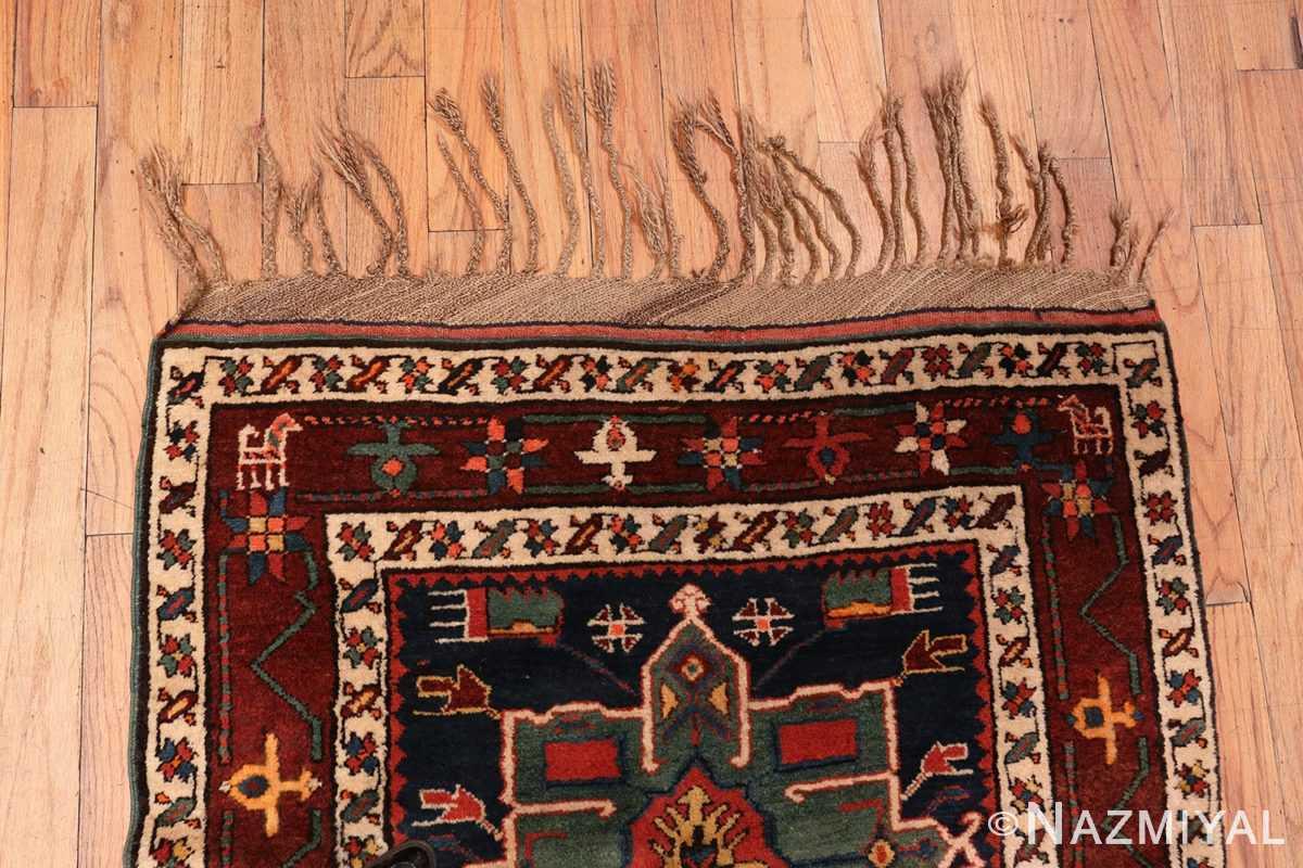 Detail border of the Northwest Persian runner rug 70040 by Nazmiyal
