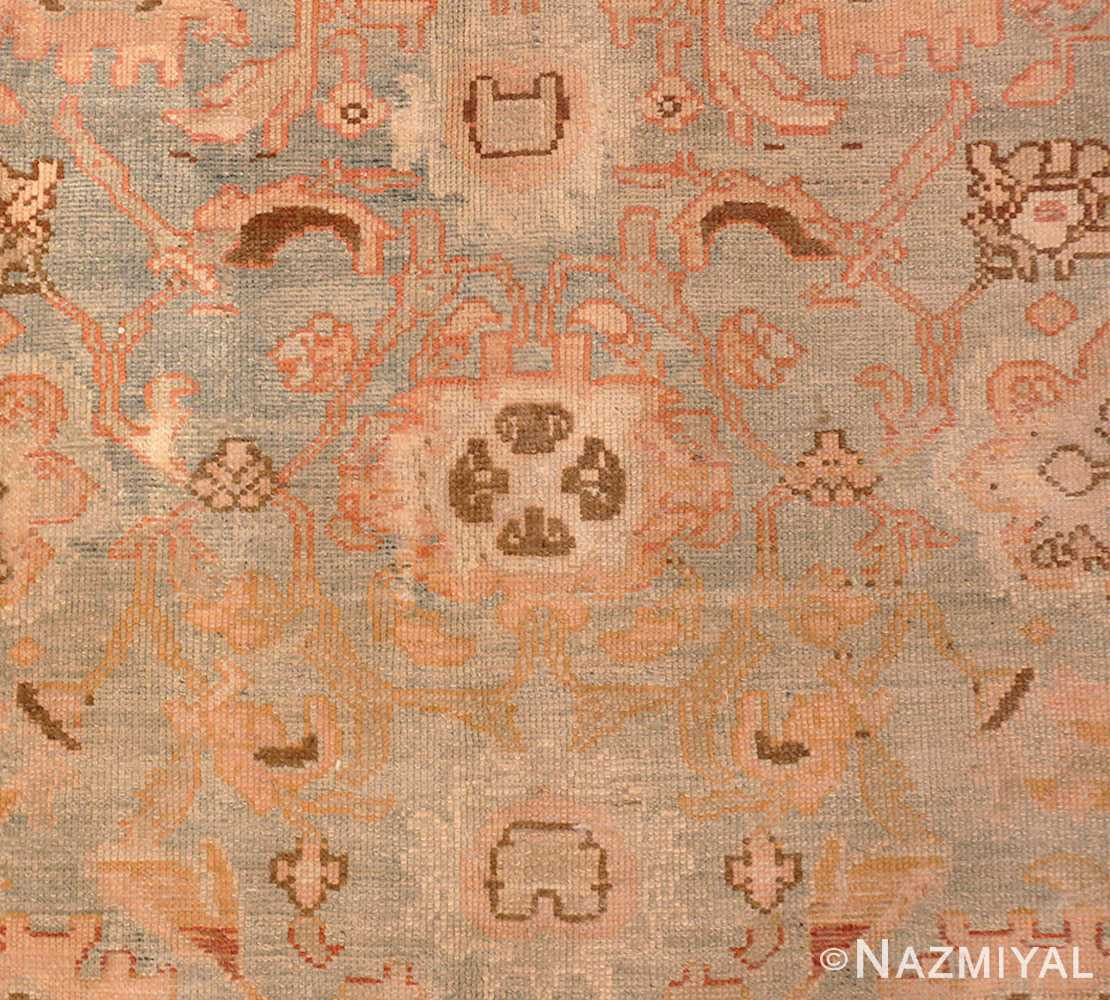 Picture of the details of the Large Antonin Kybal Room Size Vintage French Rug 48893