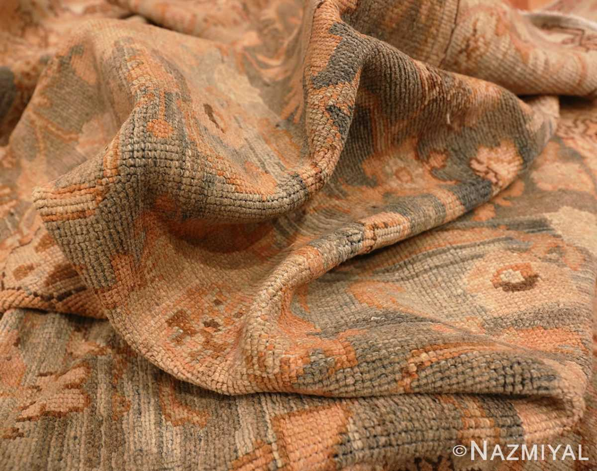 Picture of the texture of the Large Antonin Kybal Room Size Vintage French Rug 48893