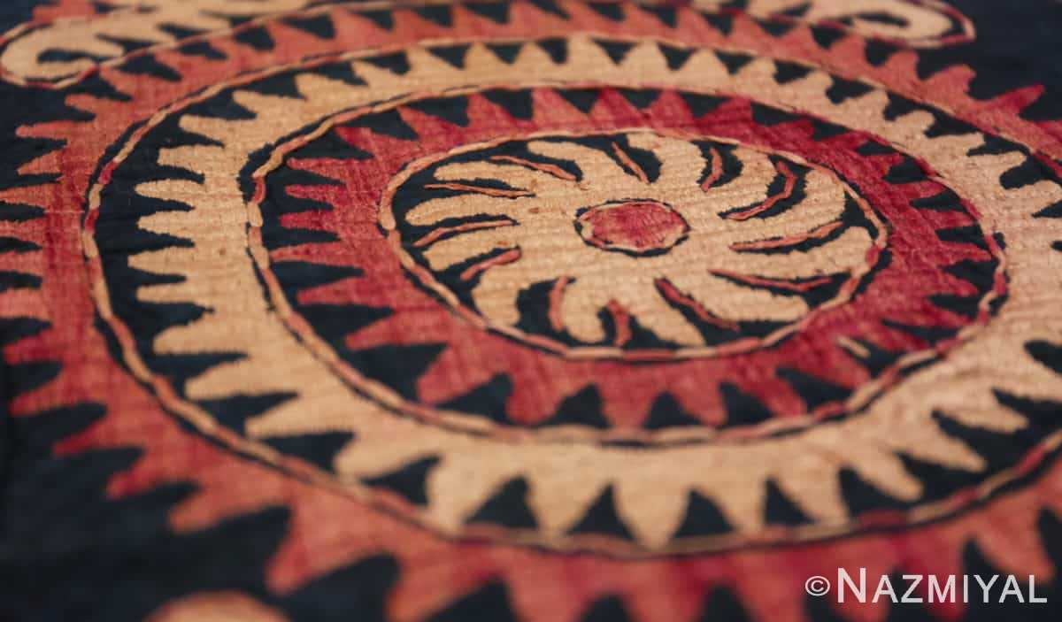 Detail Antique Dagestan Kaitag embroidery 70084 by Nazmiyal