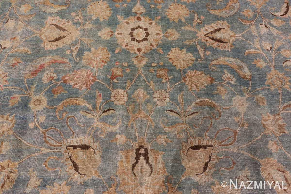 A detailed pattern picture of the antique persian khorassan rug #49843 from Nazmiyal Antique Rugs NYC
