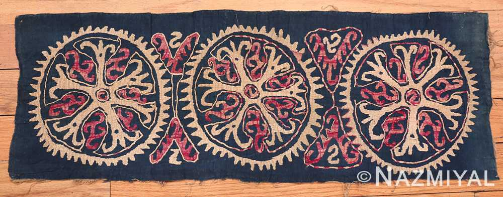 Full 19th Century Kaitag Dagestan Embroidery rug 70083 by Nazmiyal