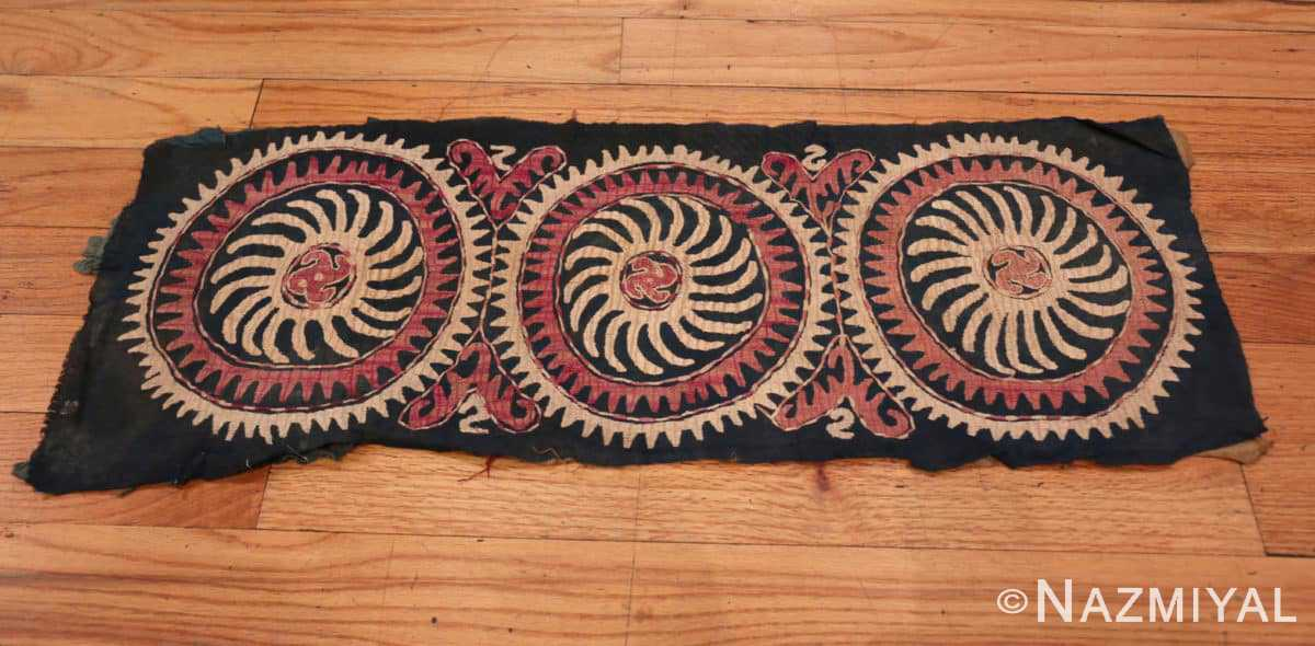 Full Antique Kaitag Dagestan embroidery 70085 by Nazmiyal