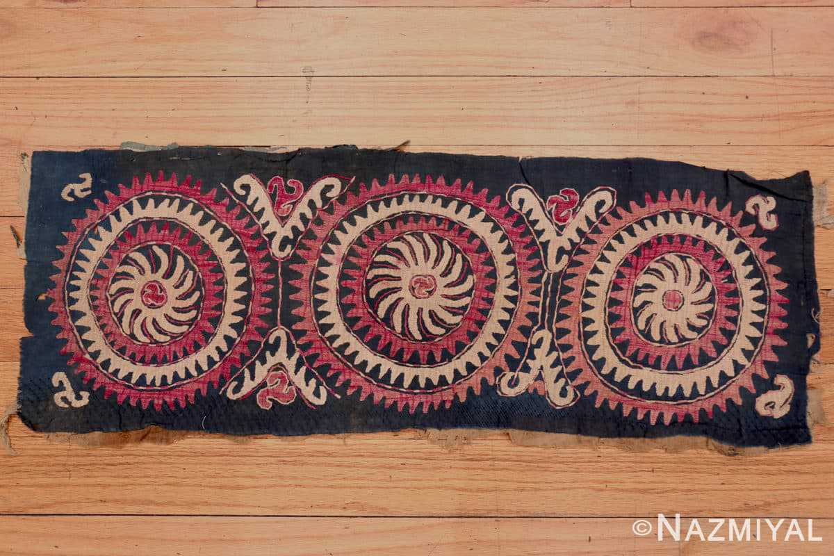 Full Antique Dagestan Kaitag embroidery 70084 by Nazmiyal