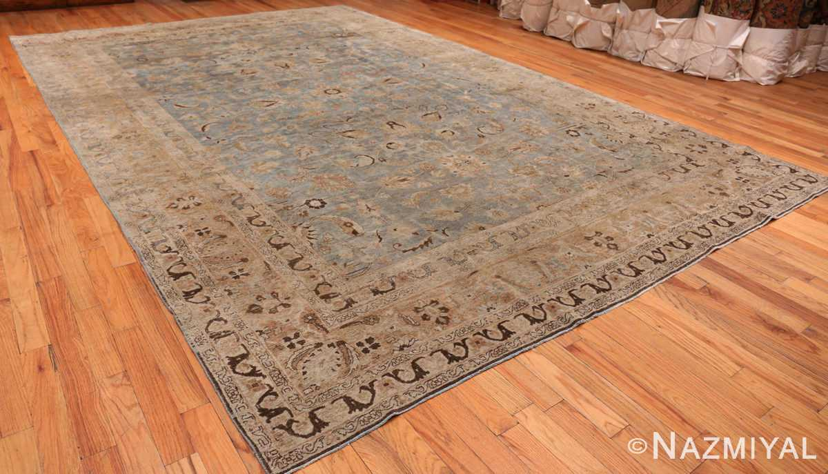 A full picture of the antique persian khorassan rug #49843 from Nazmiyal Antique Rugs NYC