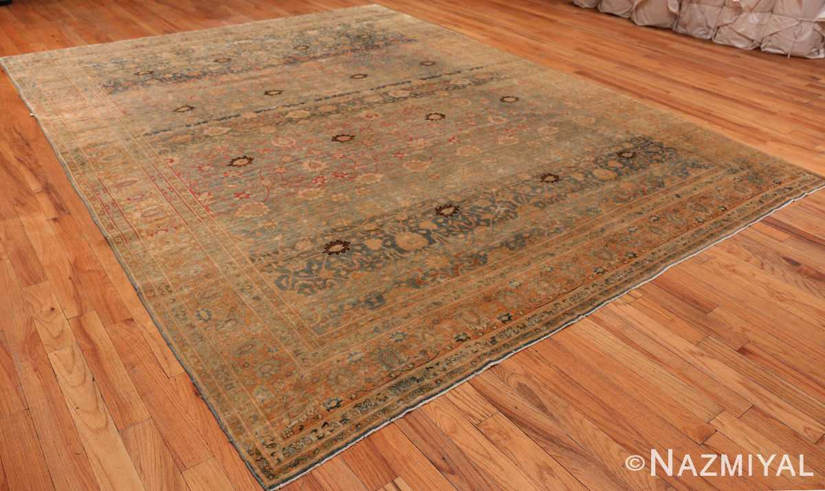 A full picture of the antique persian tabriz #70070 from nazmiyal new york city