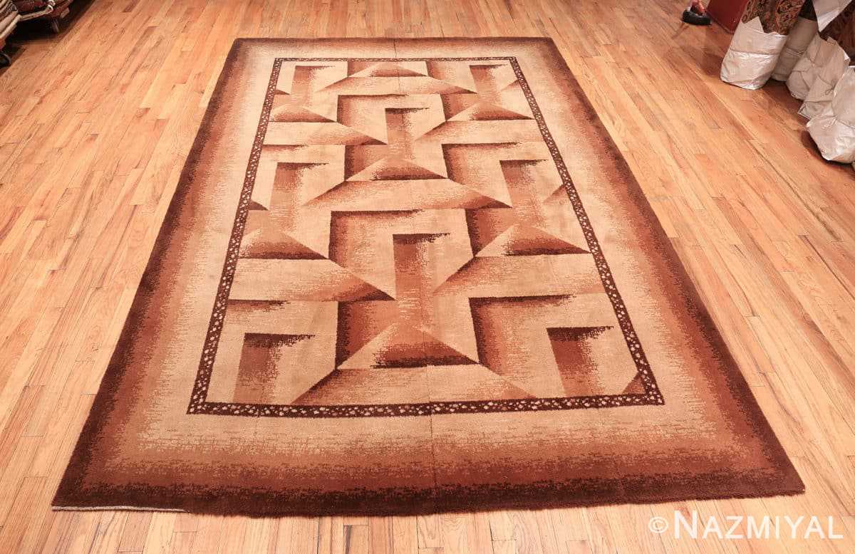 Full Antique Wilton rug 70074 by Nazmiyal