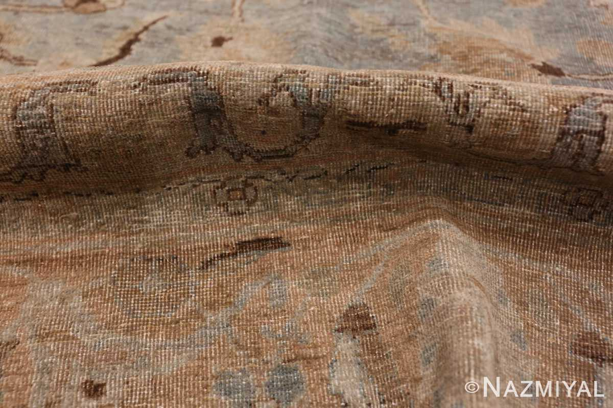 A pile picture of the antique persian khorassan rug #49843 from Nazmiyal Antique Rugs NYC