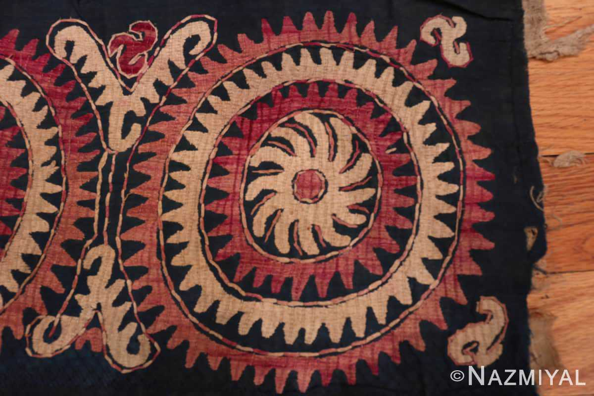 Right part Antique Dagestan Kaitag embroidery 70084 by Nazmiyal