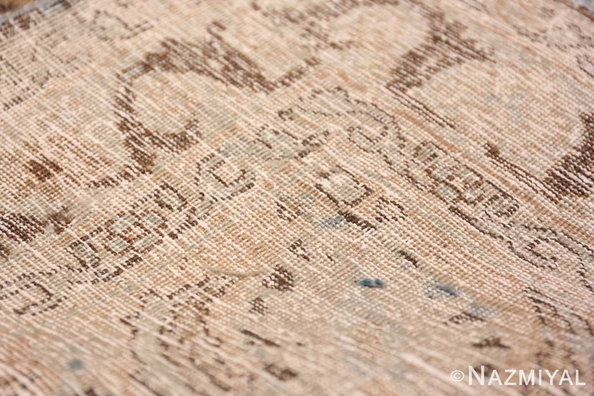 A weave picture of the antique persian khorassan rug #49843 from Nazmiyal Antique Rugs NYC