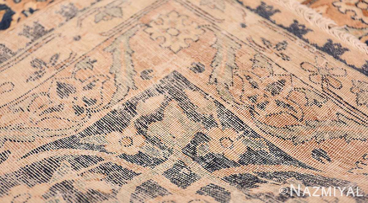 A weave picture of the large vase design antique persian kerman rug 50701 from nazmiyal new york city