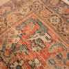 A weave picture of the large ivory background antique persian sultanabad rug #50571 from Nazmiyal Antique Rugs NYC