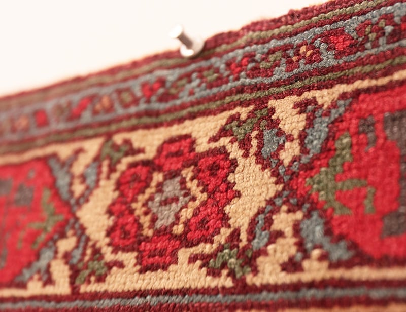 Pin Rug Or Tapestry Directly Onto The Wall - Nazmiyal Antique Rugs in NYC