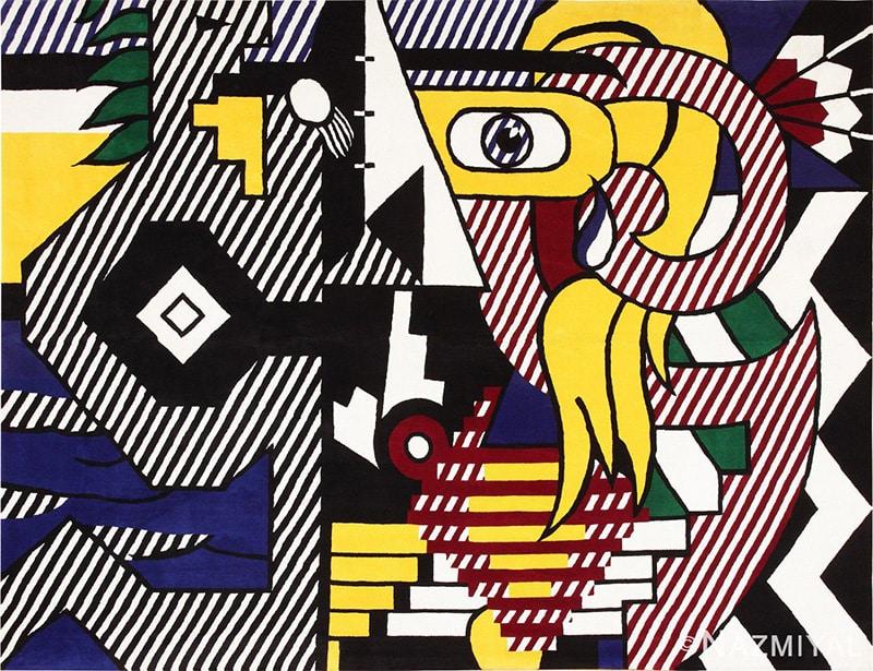 Pop Art Rug by Roy Lichtenstein - Nazmiyal Antique Rugs in NYC