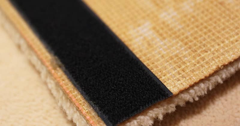 Sew Fuzzy Velcro To Back Of Tapestry Rugs - Nazmiyal Antique Rugs in NYc