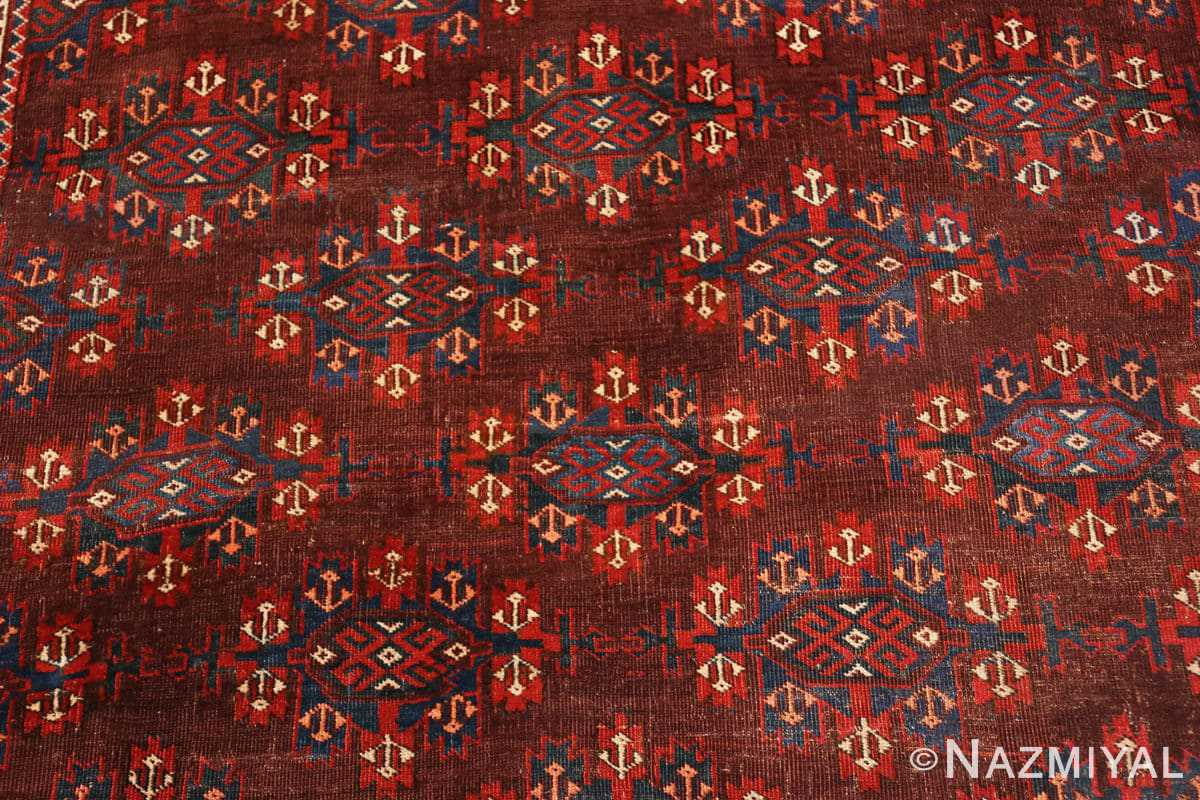 Background Antique Bokara rug 49789 by Nazmiyal