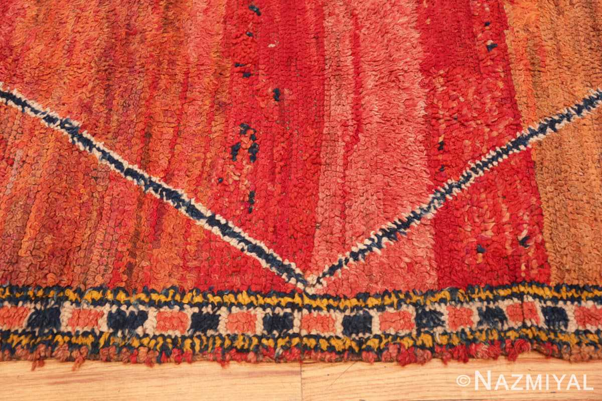 Border Antique Morrocan rug 70089 by Nazmiyal