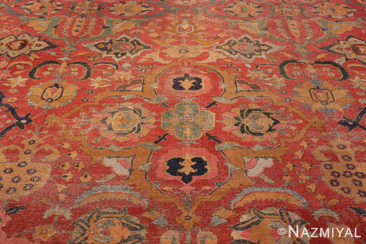Center Antique Persian Isfahan rug 70046 by Nazmiyal