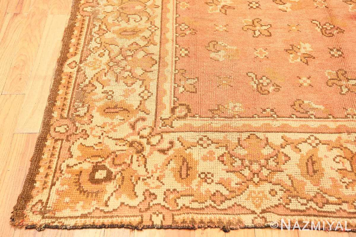 Corner Antique Irish rug 909 by Nazmiyal