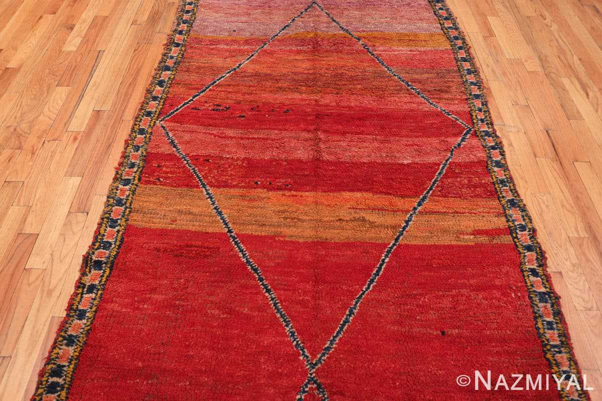 Field Antique Morrocan rug 70089 by Nazmiyal
