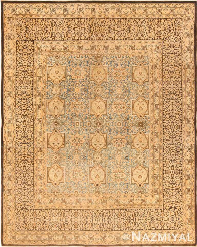Full view Antique Persian Khorassan rug 70075 by Nazmiyal