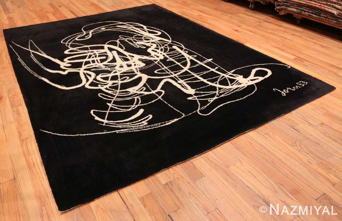 Full Vintage Art Joan Mitchell rug 70073 by Nazmiyal