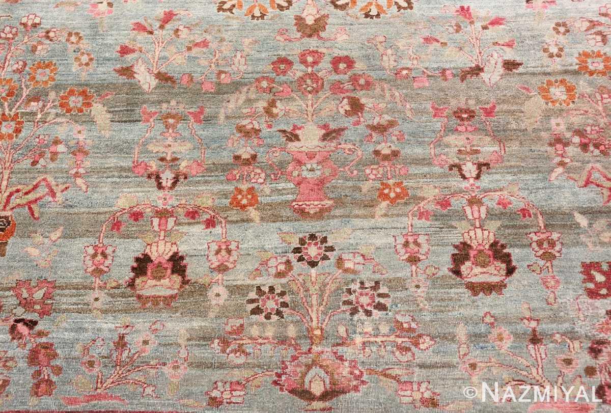 Background Antique Persian Khorassan rug 49840 by Nazmiyal