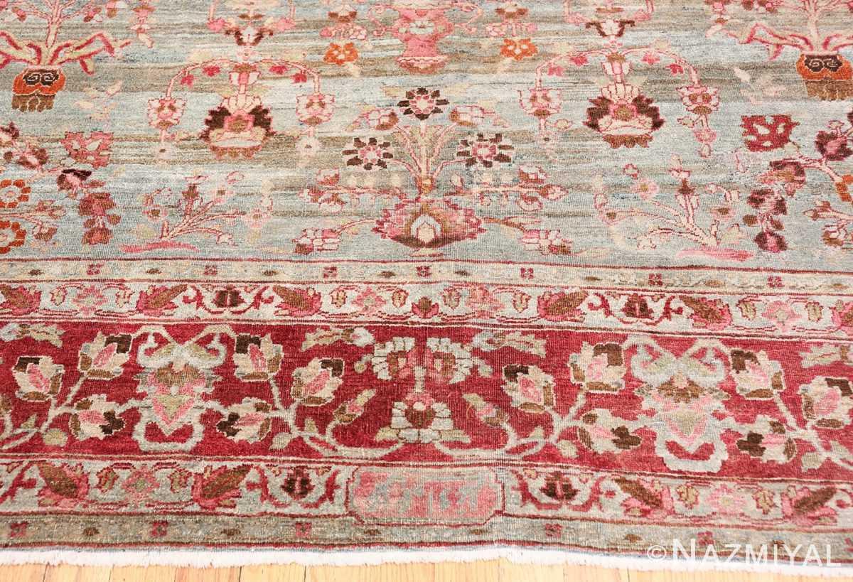 Border Antique Persian Khorassan rug 49840 by Nazmiyal