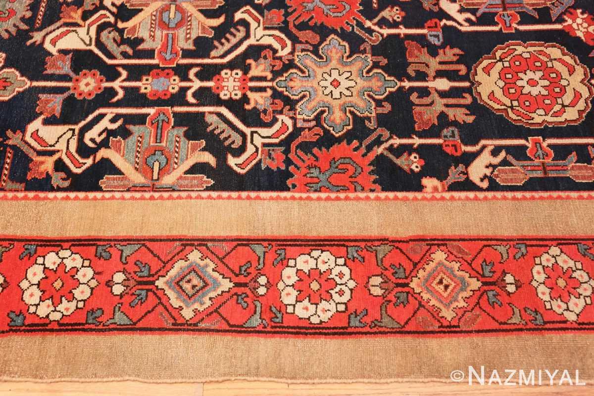 Border Antique Persian Serab rug 70133 by Nazmiyal
