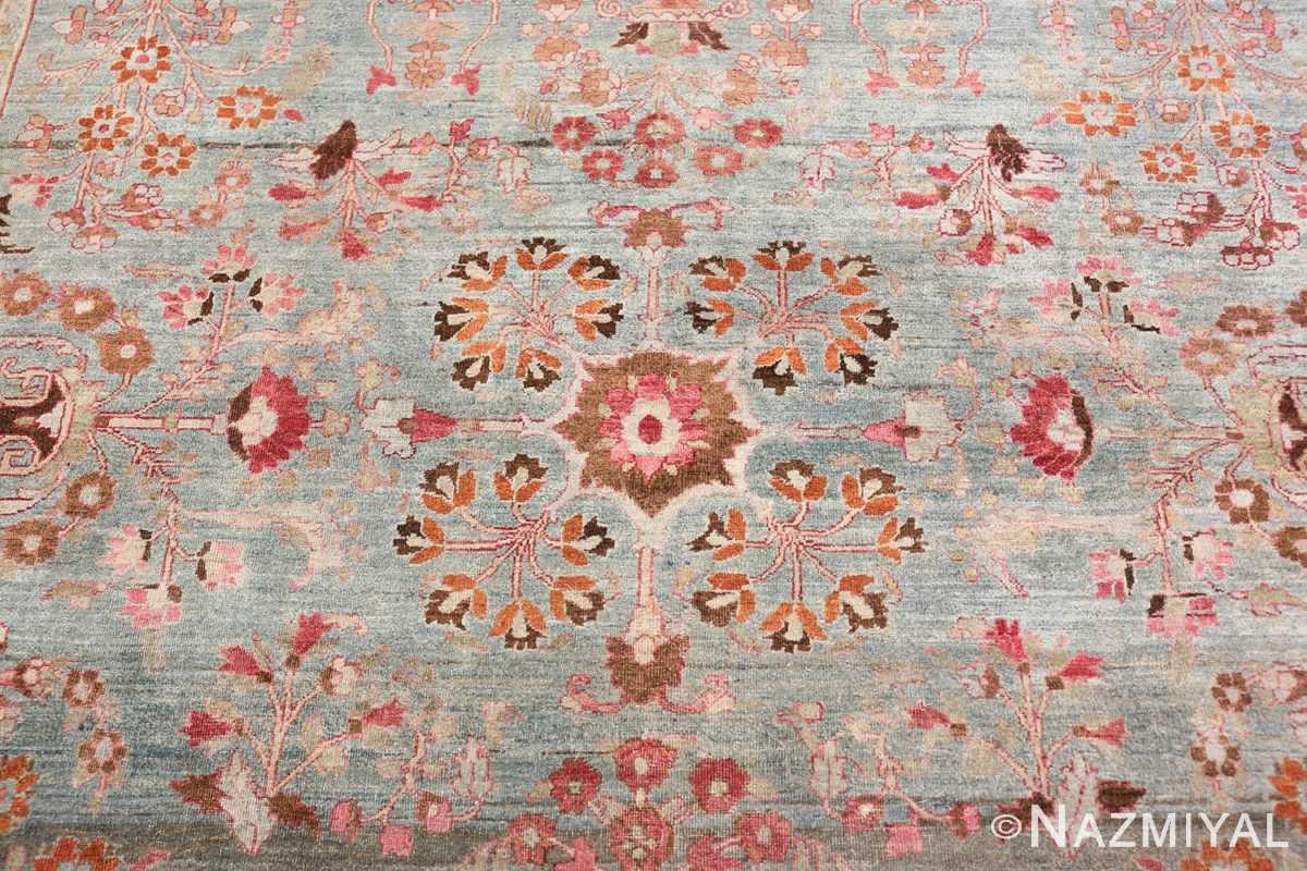 Close-up Antique Persian Khorassan rug 49840 by Nazmiyal