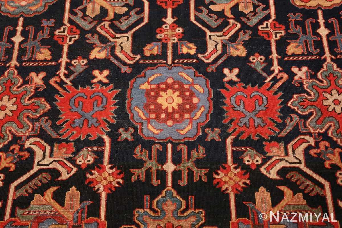 Close-up Antique Persian Serab rug 70133 by Nazmiyal