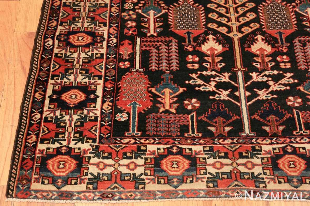 Corner Antique Persian Bakhtiari rug 70125 by Nazmiyal