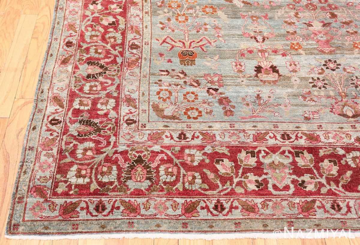 Corner Antique Persian Khorassan rug 49840 by Nazmiyal