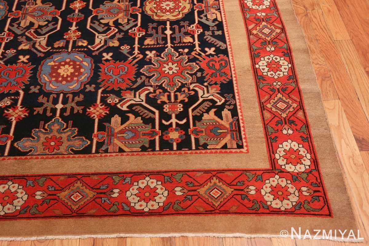 Corner Antique Persian Serab rug 70133 by Nazmiyal
