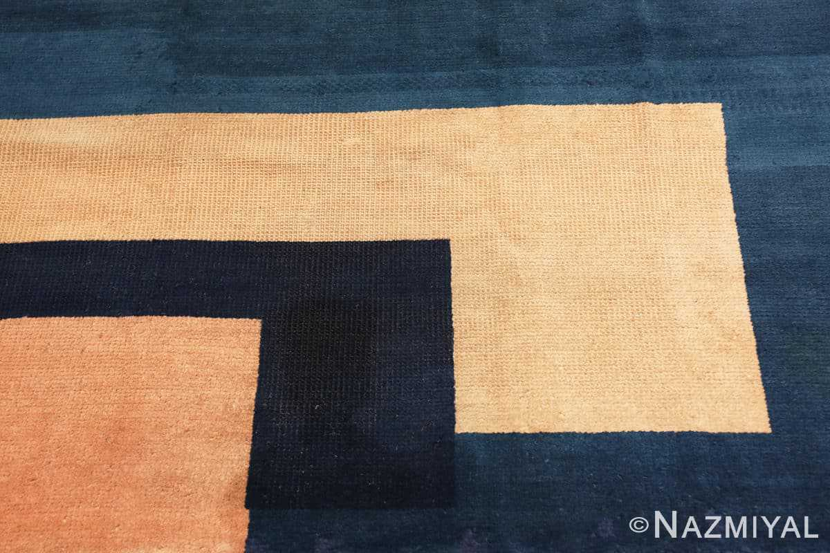 Detail Antique Indian Art deco rug 70099 by Nazmiyal