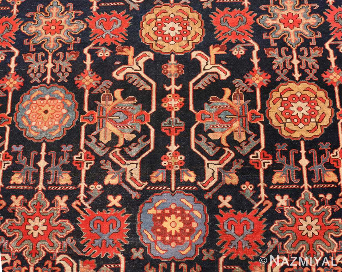 Detail Antique Persian Serab rug 70133 by Nazmiyal