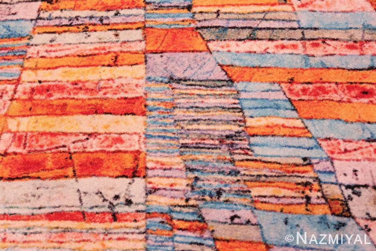 Detail impressive Modern Paul Klee rug 70149 by Nazmiyal