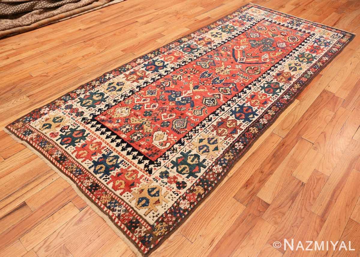 Full Antique Kazak Caucasian rug 70122 by Nazmiyal