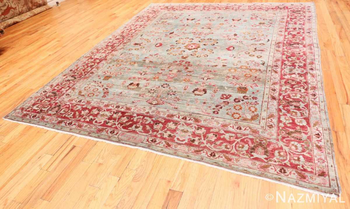 Full Antique Persian Khorassan rug 49840 by Nazmiyal