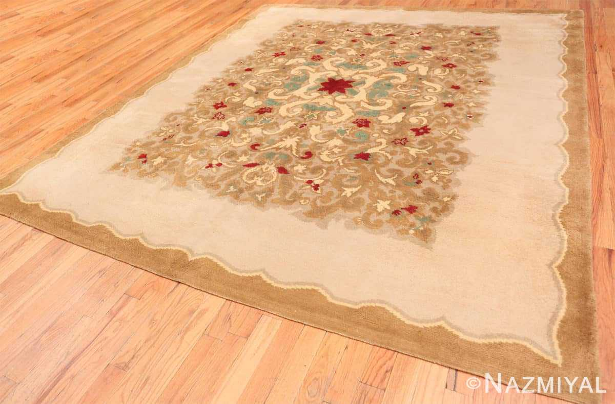 Full Antique room size French Art Deco rug 70146 by Nazmiyal