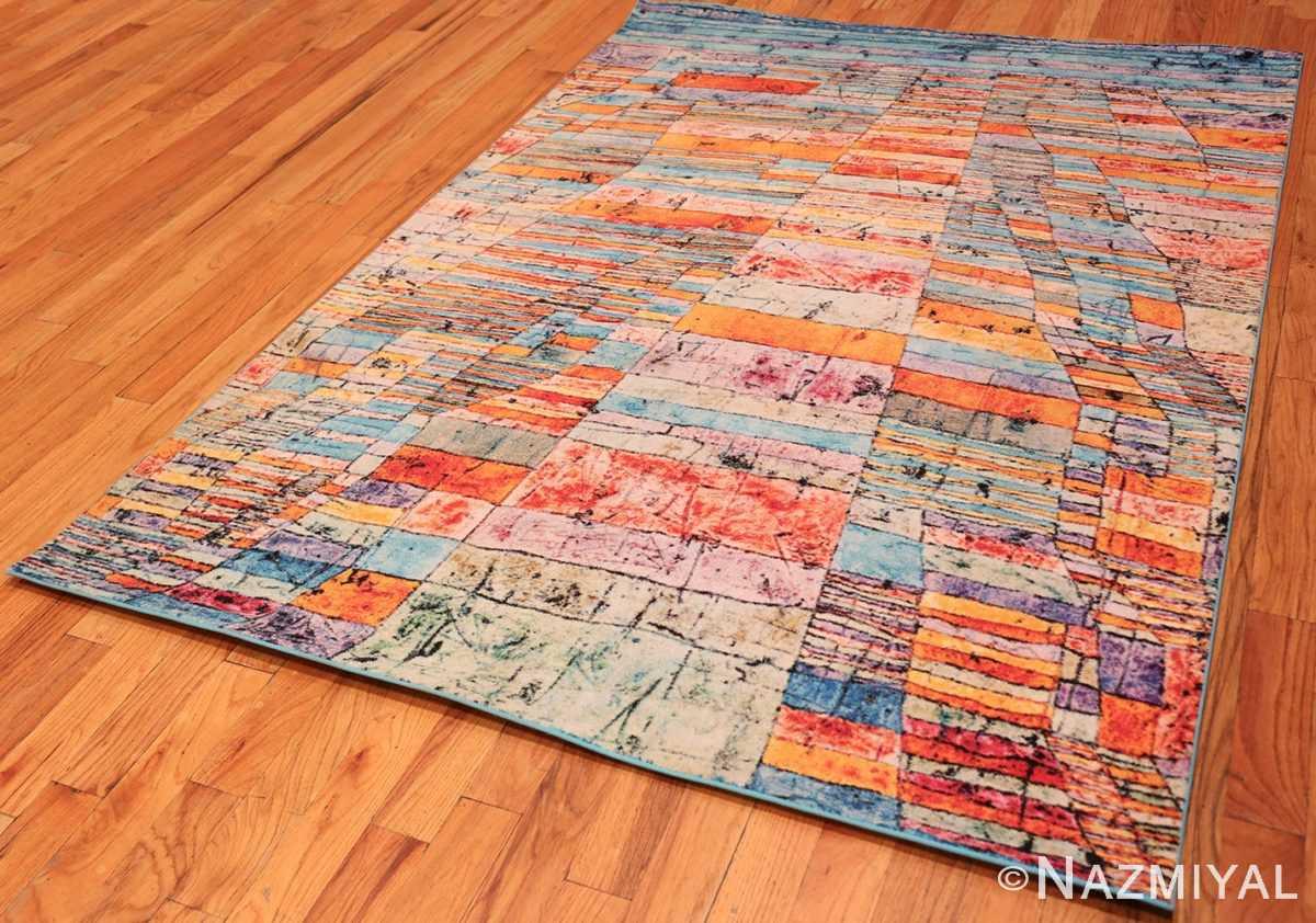 Full impressive Modern Paul Klee rug 70149 by Nazmiyal