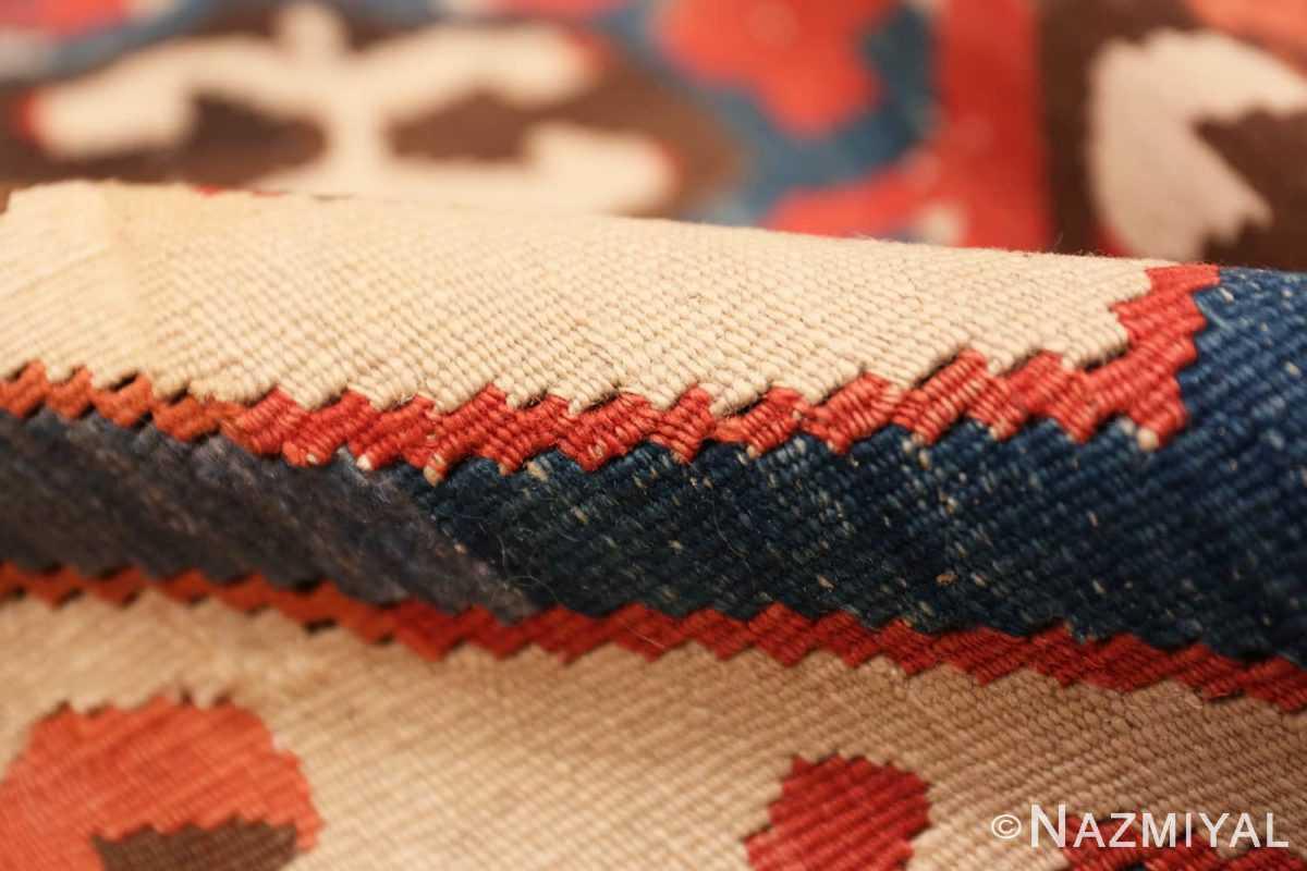 Pile Antique Turkish Konya Kilim Rug 70121 by Nazmiyal