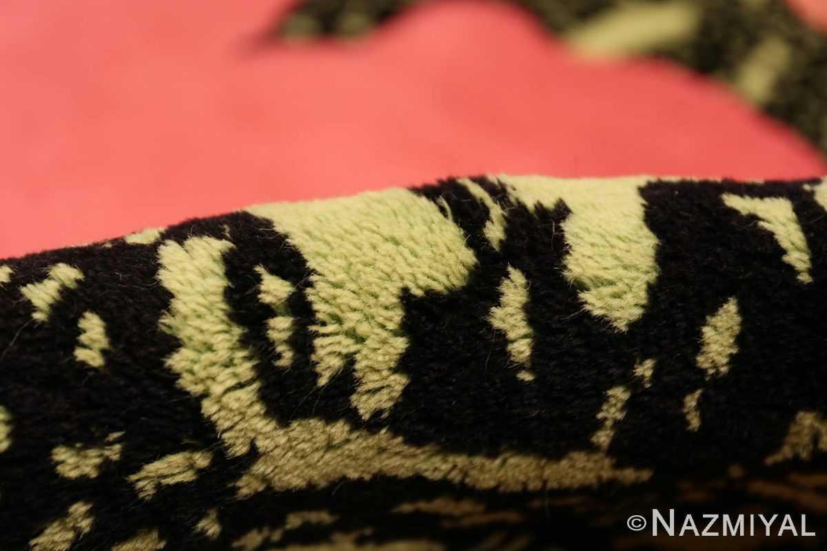 Pile Vintage Andy Warhol Flowers rug 70138 by Nazmiyal