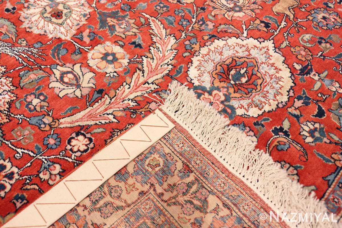 Weave Antique floral Persian Tehran rug 70135 by Nazmiyal